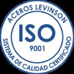 Aceros Levinson - Sistema De Calidad Certificado ISO 9001:2008