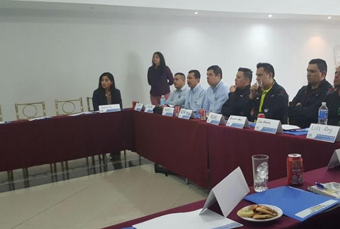 Seminario técnico-informativo Aceros Levinson en Zacatecas